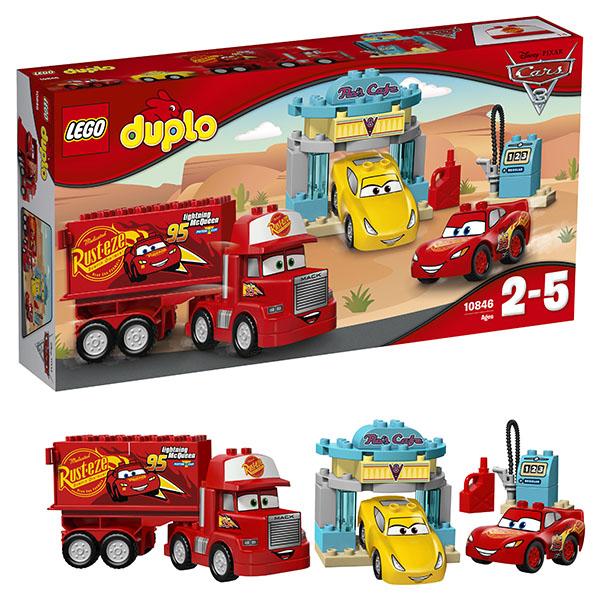 Lego Duplo 10846 Лего Дупло Тачки Кафе у Фло lego duplo 10508 лего дупло большой поезд
