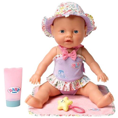 Zapf Creation my little Baby born® 811-382_1 Бэби Борн Кукла Веселые брызги, 32 см
