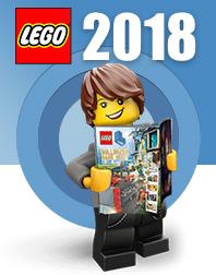 Новинки Lego 2018
