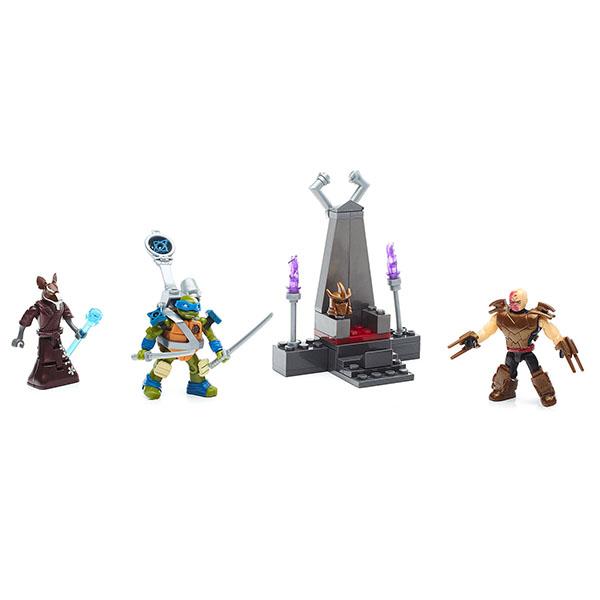 Mattel Mega Bloks FFC57 Мега Блокс Черепашки Ниндзя: трон Шредера мазин а в трон императора