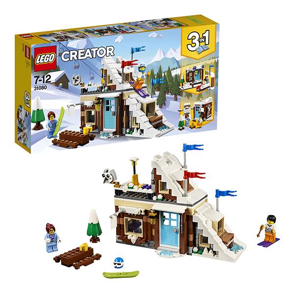 Lego Creator 31080 Лего Криэйтор Зимние каникулы (модульная сборка) lego creator 31045 лего криэйтор морская экспедиция