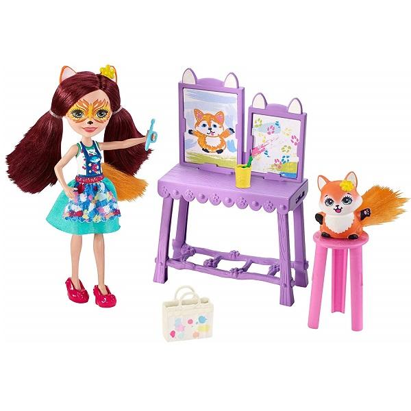 Mattel Enchantimals GBX03 Кукла со зверушкой и тематическим набором кукла enchantimals со зверушкой и тематическим набором fcc62 праздник фламинго