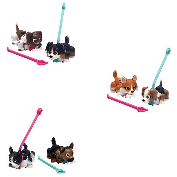 Pet Club Parade PTD01111 Пет Клаб Парад Собачка в комплекте с косточкой и поводком (в ассортименте)