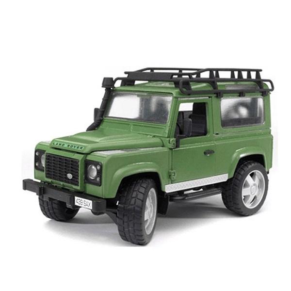 Фото - Bruder 02-590 Внедорожник Land Rover Defender внедорожник bruder jeep cross counrty racer 02 541 29 см голубой