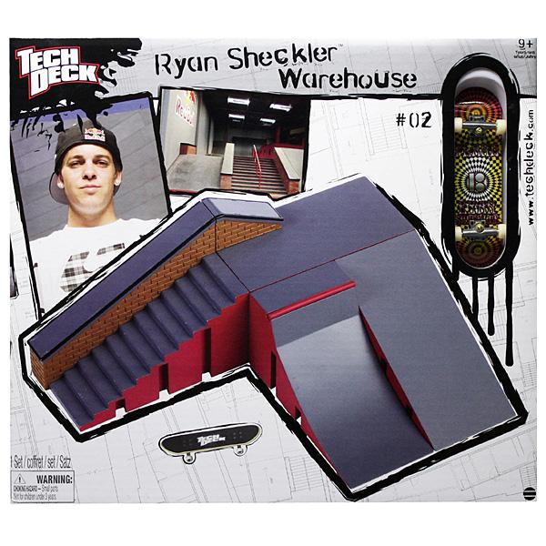 Tech Deck 13831 Тек Дек парковый набор SHECKLER