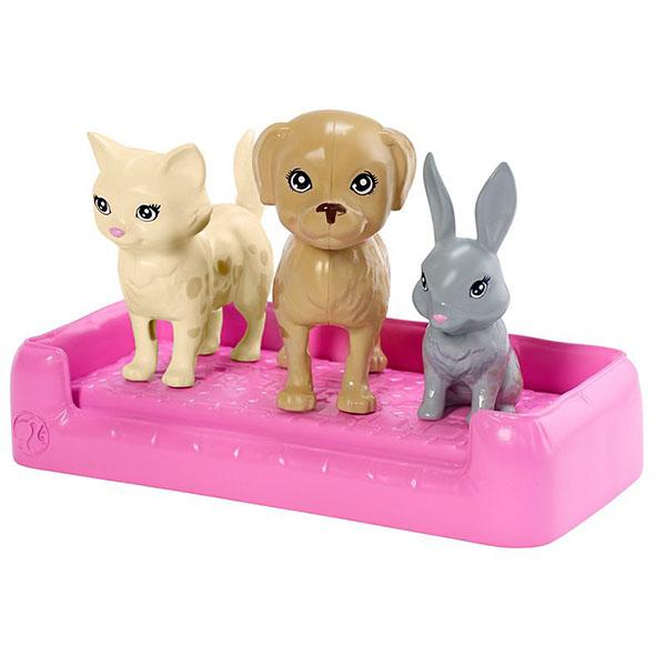 """Mattel Barbie FXH11 Барби Игровой набор """"Кукла и домашние питомцы"""""""