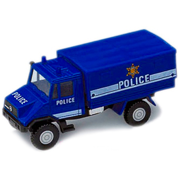 Welly 99618 Велли Модель машины Грузовик с кузовом Полиция