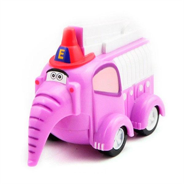 Vroomiz V8340 Врумиз Инерционная машинка - Слон пожарный врумиз машинка со звуковыми и световыми эффектами спиди врумиз