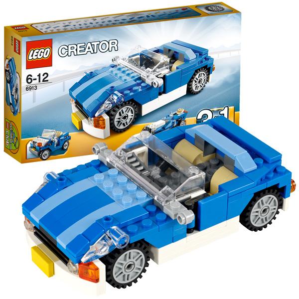Конструктор Лего Криэйтор 6913 Конструктор Синий кабриолет