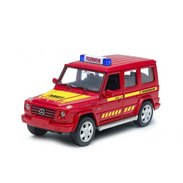 Welly 39889GF Велли Модель машины Mercedes-Benz G-CLASS Пожарная welly mercedes benz m class 39872