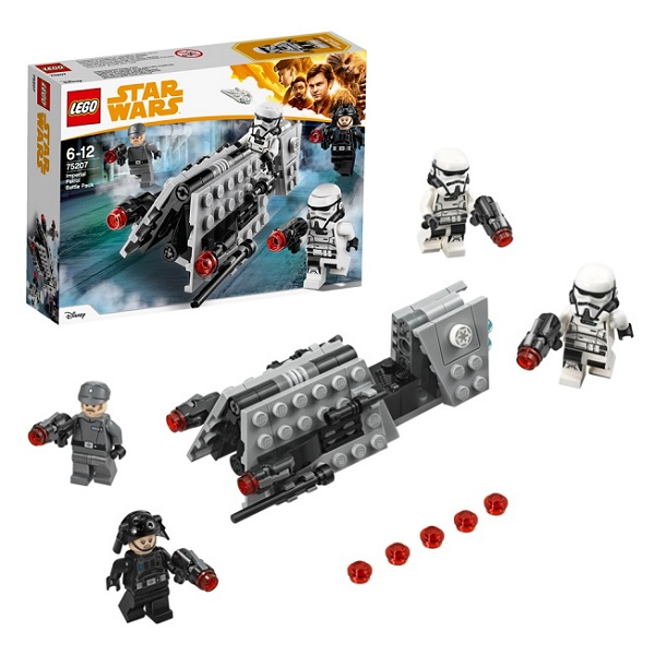 Lego Star Wars 75207 Конструктор Лего Звездные Войны Боевой набор Имперского Патруля lego игрушка звездные войны флэш спидер