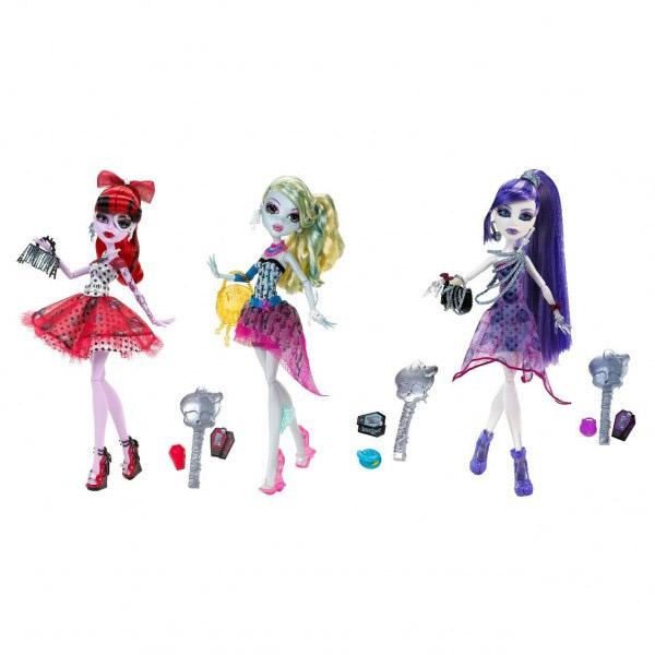 Mattel Monster High 4528X/1109697 Школа Монстров Кукла Монстр Хай Вечеринка (в ассортименте)