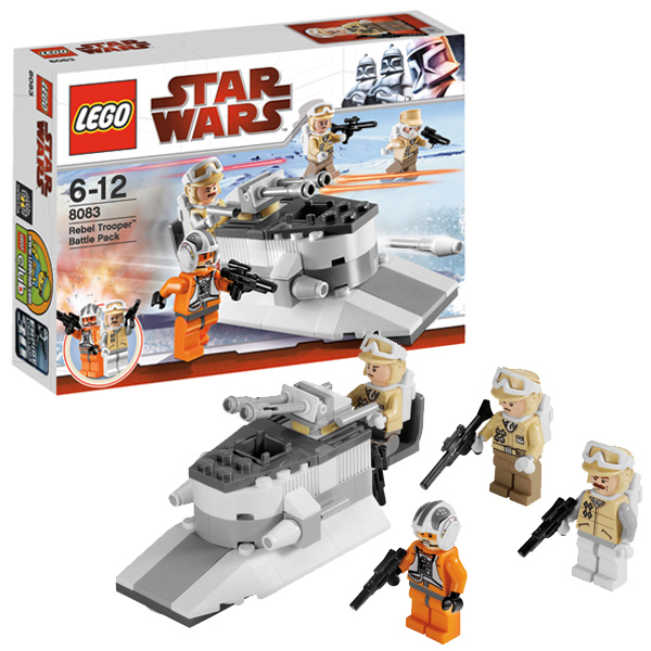Lego Star Wars 8083 Конструктор Лего Звездные войны Боевое подразделение повстанцев Rebel Trooper