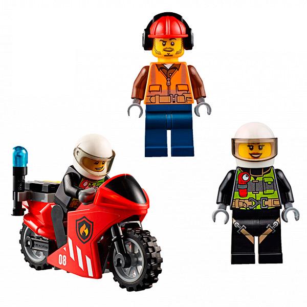 Lego City 60108 Конструктор Лего Город Пожарная команда быстрого реагирования
