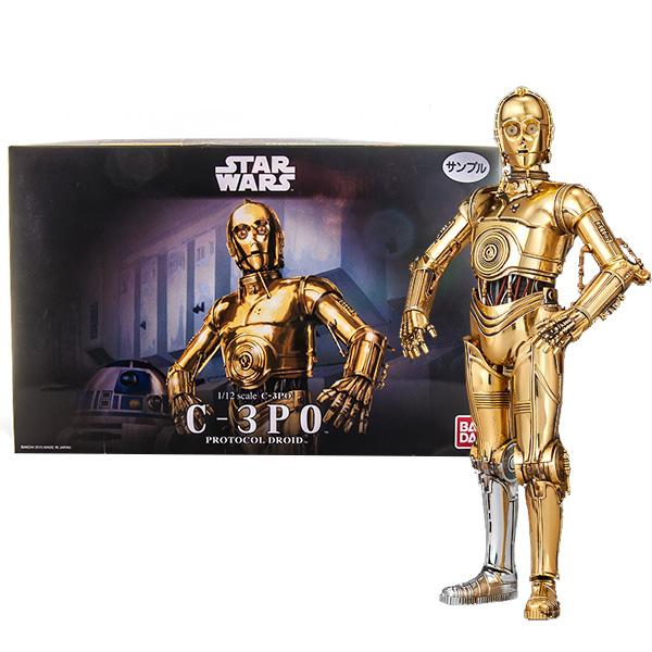 Star Wars Bandai 84617 Звездные Войны Сборная модель C-3PO 1:12 star wars bandai 1 12 84612