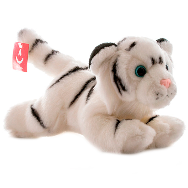 Aurora 300-18 Аврора Тигр белый, 28 см aurora мягкая игрушка тигр 28 см