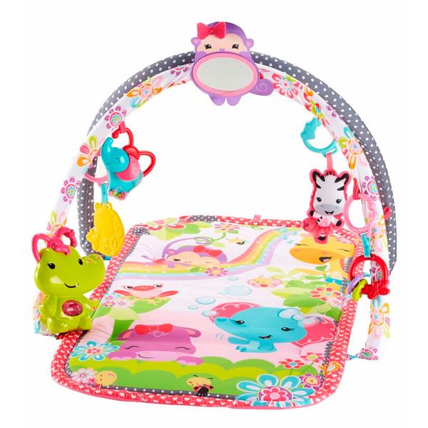 Mattel Fisher-Price DFP64_9 Фишер Прайс Развивающий коврик для девочек (розовый)