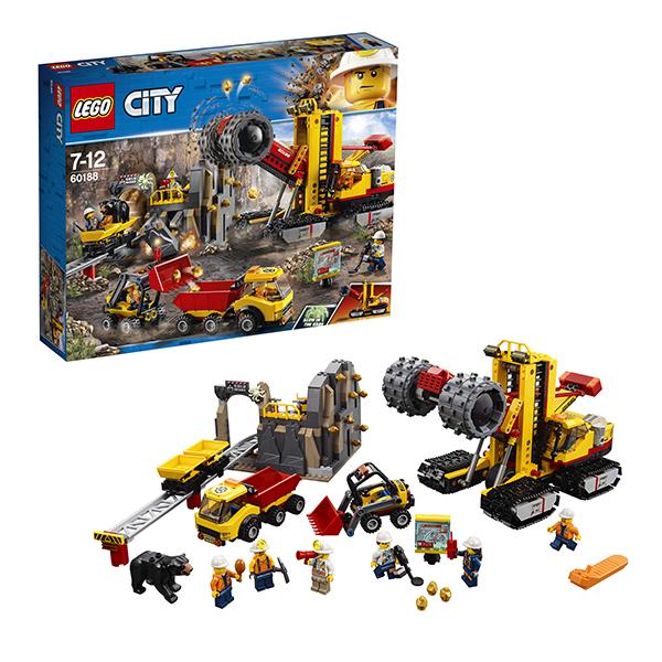 Lego City 60188 Конструктор Лего Город Шахта конструкторы lego lego игрушка город набор для начинающих остров тюрьма модель 60127 city