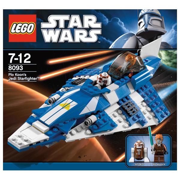 Lego Star Wars 8093 Конструктор Лего Звездные войны Звездный истребитель Пло Куна