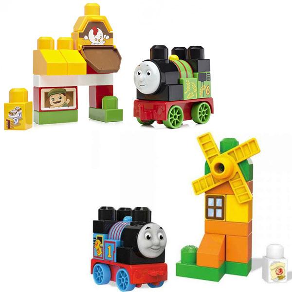 Mattel Mega Bloks DXH52 Мега Блокс Томас и друзья: достопримечательности Содора паровозик mega bloks томас и его друзья в ассортименте