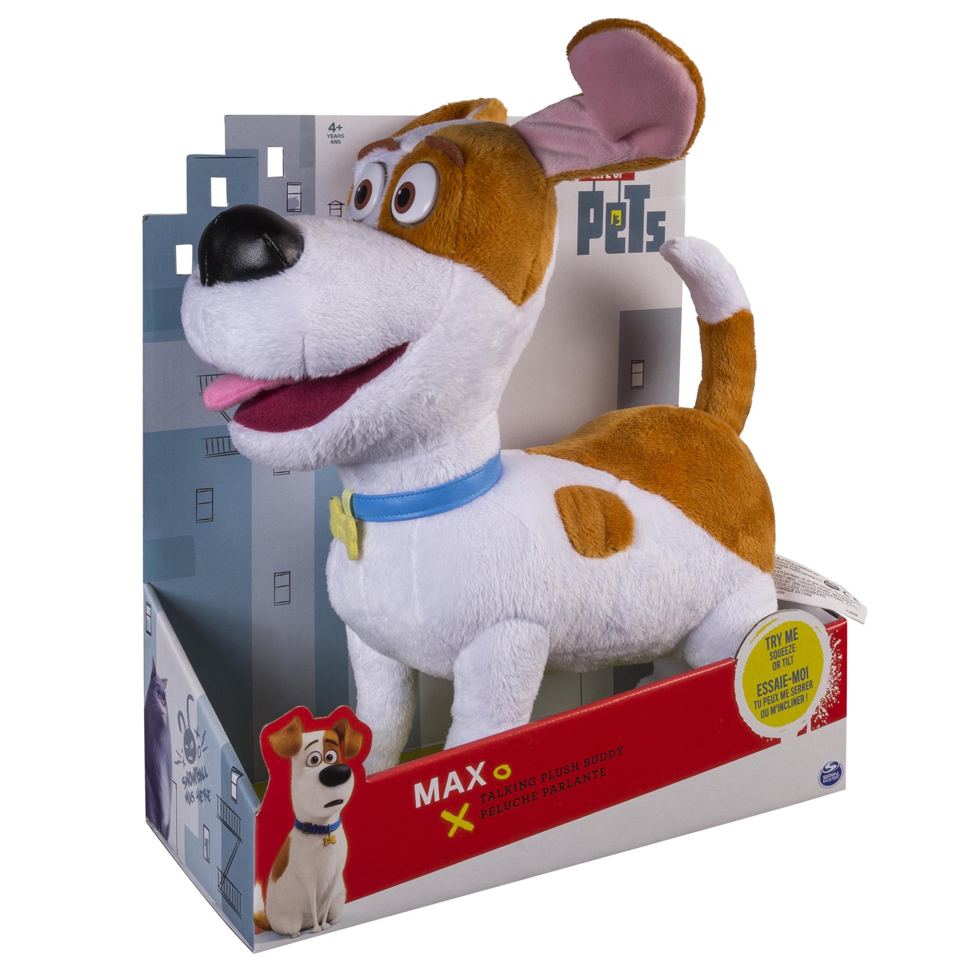Secret Life of Pets 72809-max_9 Тайная жизнь домашних животных Плюш со звуковыми эффектами - Макс
