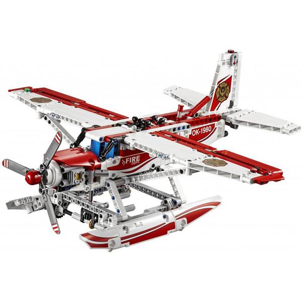 Лего Техник 42040 Конструктор Пожарный Самолет