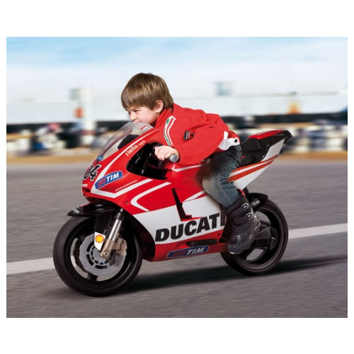Детский электромотоцикл Peg-Perego MC0018_313 Ducati GP Rossi 2013