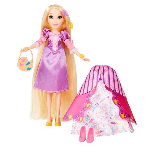 Hasbro Disney Princess B5315 Модная кукла Принцесса в платье со сменными юбками Рапунцель