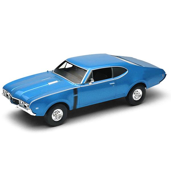 цена на Welly 43711 Велли Модель винтажной машины 1:34-39 Oldsmobile 442 1968