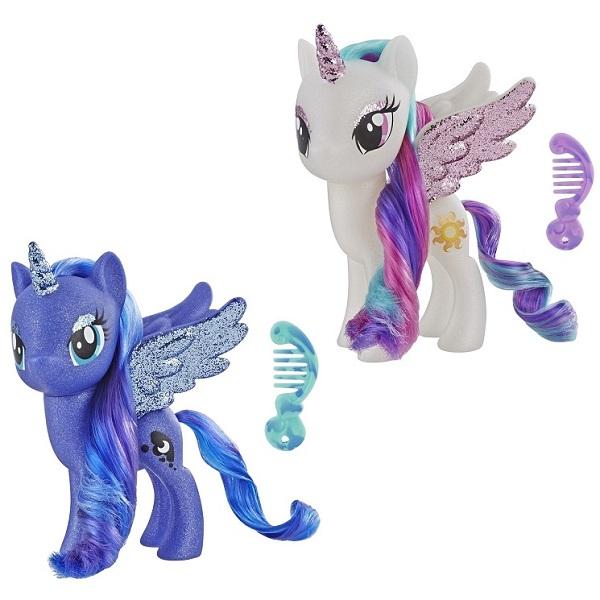 Hasbro My Little Pony E5892 Май Литл Пони с разноцветными волосами (в ассортименте) hasbro my little pony b3604 май литл пони мейнхеттен в ассортименте