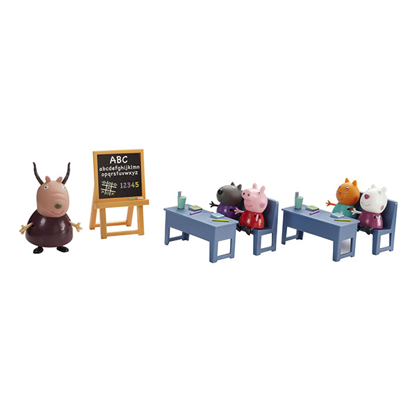 """Peppa Pig 20827 Свинка Пеппа Игровой набор """"Идем в школу"""""""