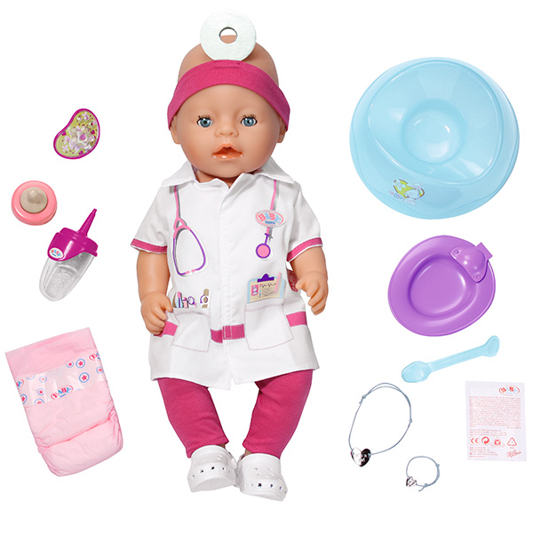 Zapf Creation Baby born Интерактивная, 43 см