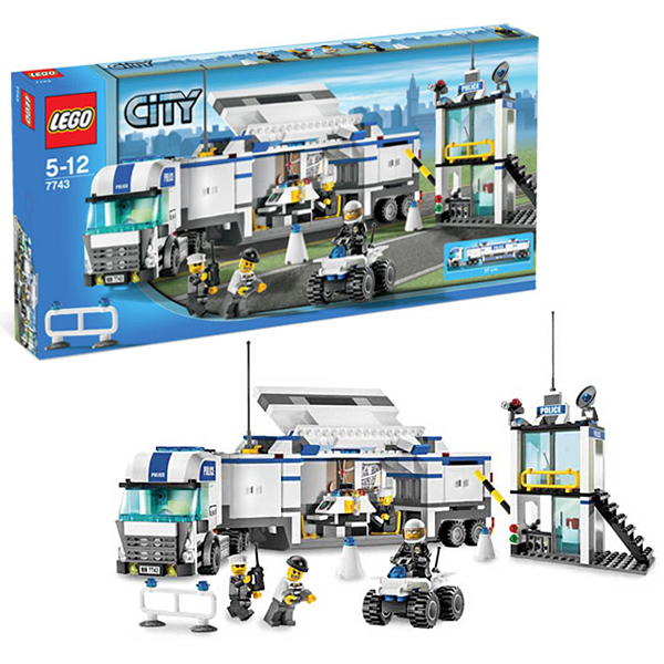 Lego City 7743 Конструктор Лего Город Полицейский грузовик
