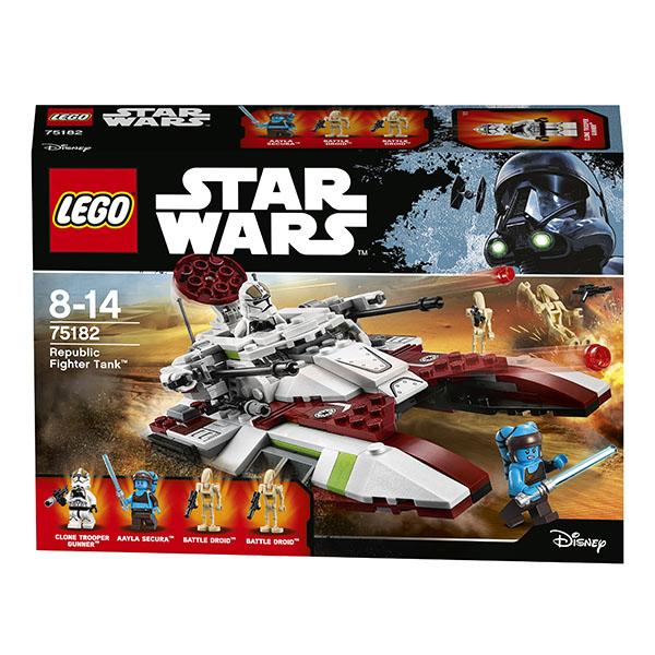 Lego Star Wars 75182 Конструктор Лего Звездные Войны Боевой танк Республики