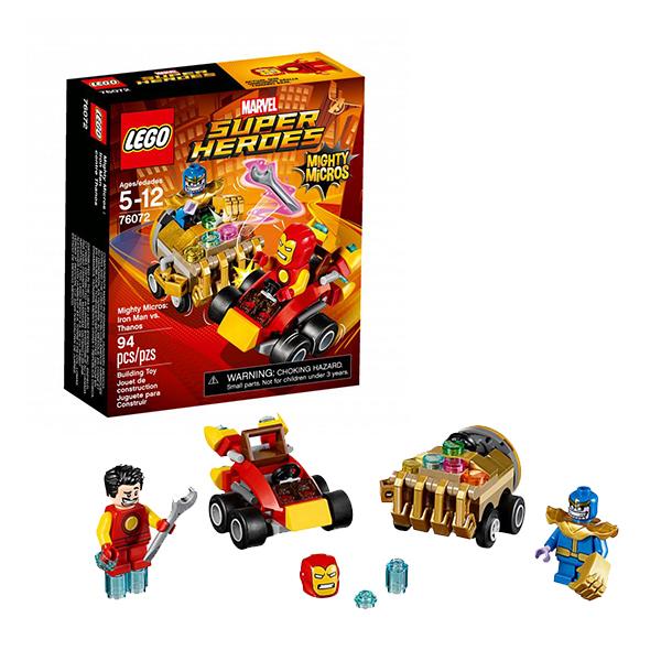 Lego Super Heroes Mighty Micros 76072 Конструктор Лего Супер Герои Железный человек против Таноса