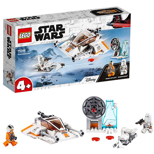 LEGO Star Wars 75268 Конструктор ЛЕГО Звездные войны Снежный спидер детское лего sluban airbus lego b0366