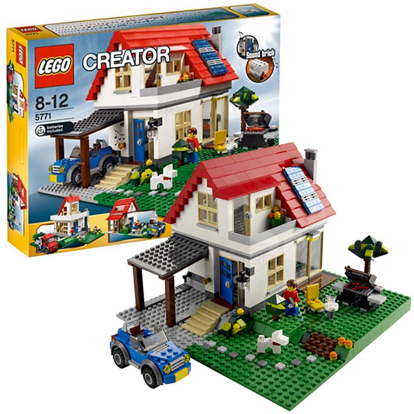 Конструктор Лего Криэйтор 5771 Конструктор Домик на холме
