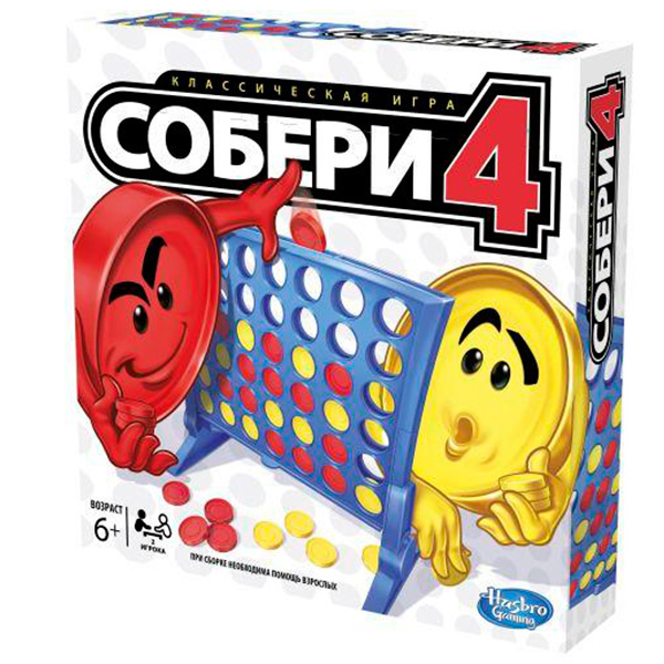 Hasbro Other Games A5640 Игра Собери 4