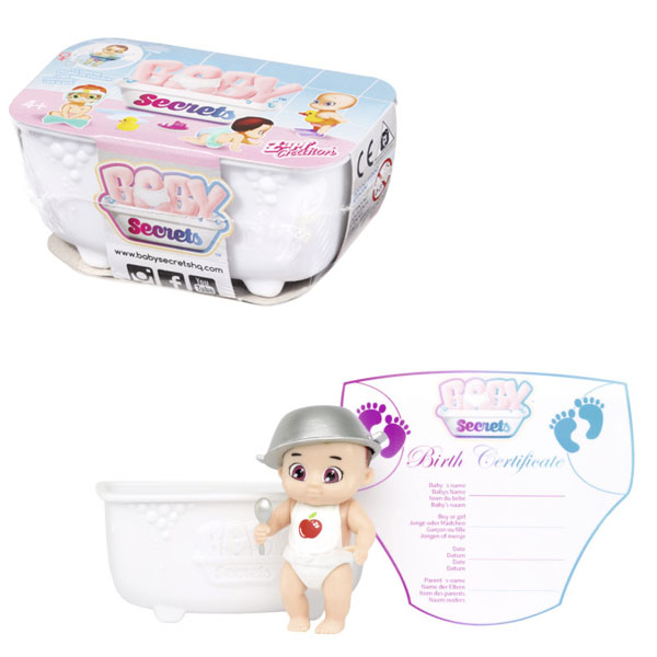 Baby Secrets 930-137 Кукла с ванной