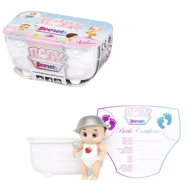 Zapf Creation Baby Secrets 930-137 Бэби Секрет Кукла с ванной
