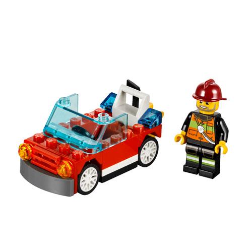 LEGO City 30221 Конструктор ЛЕГО Город Автомобиль пожарного