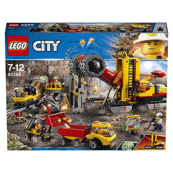 LEGO City 60188 Конструктор ЛЕГО Город Шахта