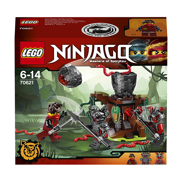 Lego Ninjago 70621 Лего Ниндзяго Атака Алой армии