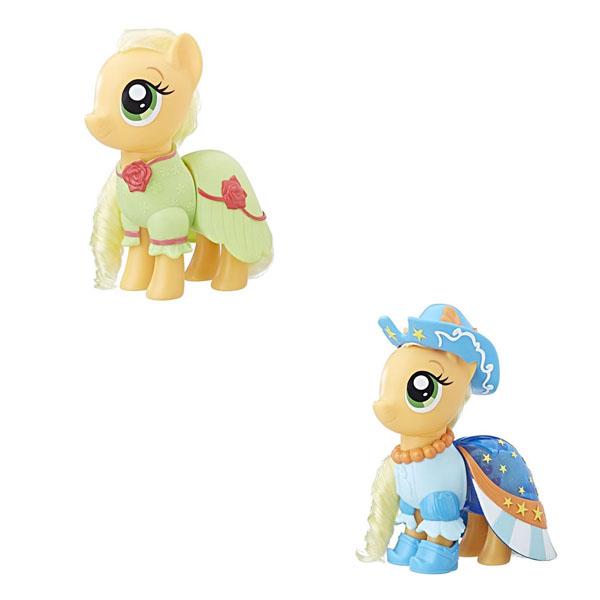 Hasbro My Little Pony C0721/C1821 Май Литл Пони Пони-модницы Сияние Эпплджек оранжевая hasbro my little pony b5365 май литл пони малышка пони принцесса