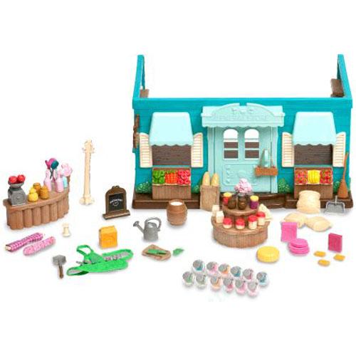 Li'l Woodzeez 6089M Лил Вудзиз Магазин долины Ханисакл в наборе с аксессуарами, 90 предметов
