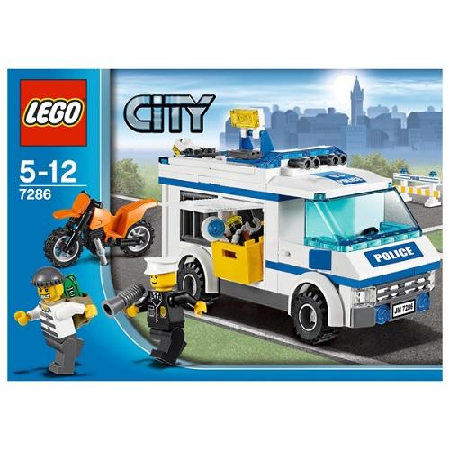 LEGO City 7286 Конструктор ЛЕГО Город Перевозка заключённых