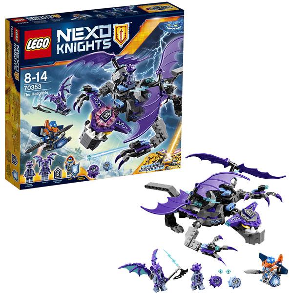 Lego Nexo Knights 70353 Лего Нексо Летающая Горгулья конструктор lego nexo knights 70353 летающая горгулья