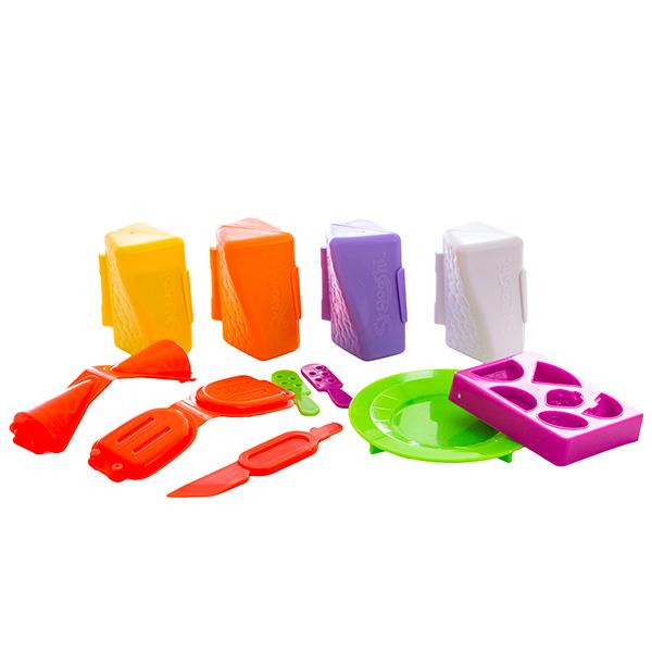 """Skwooshi S30024 Сквуши Набор для творчества """"Мороженое"""" - масса для лепки и аксессуары"""