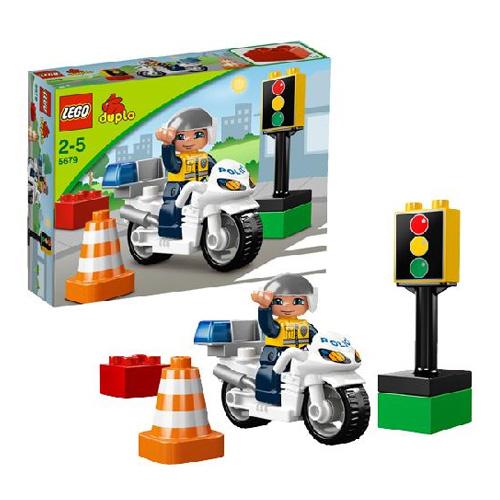 LEGO DUPLO 5679_1 Конструктор ЛЕГО ДУПЛО Полицейский мотоцикл