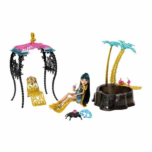 "Mattel Monster High 7716Y Школа Монстров Монстр Хай ""13 Желаний"" Оазис Клео с куклой Monster High"